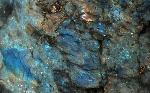 Blue jade granite